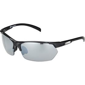 UVEX Sportstyle 114 Sportsbriller, black mat/silver